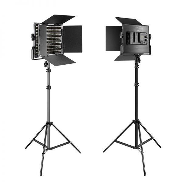 Neewer Kit iluminadores de LED Bi-Color 660 LED